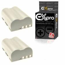 Ex-Pro EN-EL3 2200mAh Battery x2 for Nikon D700 D300 D200 D100 D80 D70s D70 D50