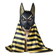 Egyptian Anubis Mask Halloween Cosplay Wolf Masquerade Mask Party Props PVC New