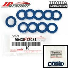 GENUINE TOYOTA LEXUS SCION OEM NEW OIL DRAIN PLUG WASHER GASKET 10PC 90430-12031