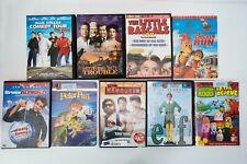 9 Dvd comedy & kids Lot Elf Peter Pan Chicken Run Hangover Blue Collar Bruce