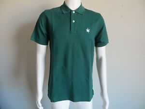 BOAST POLO SHIRT - NEW WITH TAGS - SHORT SLEEVE - IVY GREEN SIZE LARGE