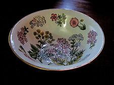 Andrea by Sadek Porecelain Embossed Enameled Decorative Display Bowl