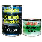 Klarlack 1,5 Liter Set MS 2K Klarlack SET mit Härter Autolack Lack Glanzlack