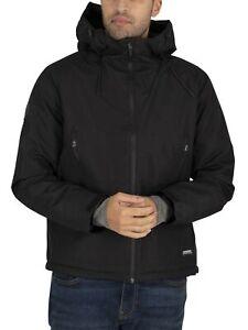 Superdry Men's Padded Elite Windcheater Jacket, Black