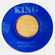 THE DOVELLS - BRISTOL STOMP b/w YOU CAN'T SIT DOWN - KING 45 - CANADA - 1986