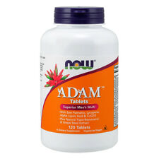 NOW FOODS ADAM Multi-Vitamin for Men 120 tablets - multivitaminico per Lui
