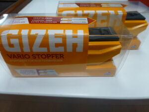 2 x  Gizeh Vario Stopfer Stopfmaschine zum Spitzenpreis