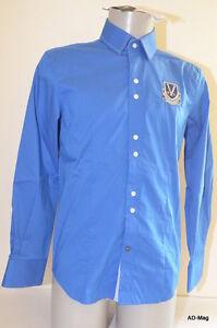 Chemise Sportswear Luxe Bleu VESTIAIRES PRINCIPAUTE CANNOISE - M NEUF