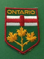 Patch, Ontario Canada Sew On Patch PB21