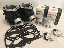 Banshee 66mm 370cc Big Bore Ported Cylinders Top End Rebuild Kit Wiseco Cometic