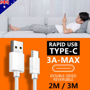 Rapid Charging USB Type C Cable Charger for Samsung S21 S20 Ultra S10 S9 S8 Note