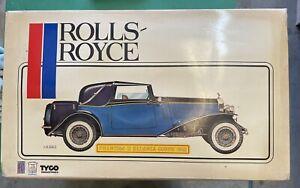 Pocher Tyco 1932 Rolls Royce PhantomII Sedanca Coupe model kit