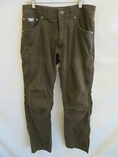 Men's Kuhl Vented Brown Straight Pants Size 30