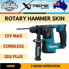 New Makita 12V Max Cordless 14mm SDS Plus Rotary 2 mode Hammer Drill Skin Only