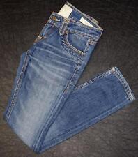 Taverniti So Jeans Janis Straight Distressed Juniors Sz 00 24 Denim Blue Jeans