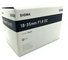 New SIGMA 18-35mm f/1.8 DC HSM Art Lens for PENTAX K