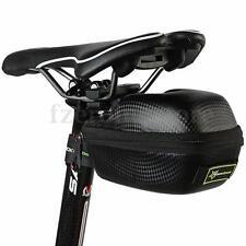 RockBros Waterproof Leather Bicycle Seat Saddle Bag Saddlebag Case MTB Road Bike