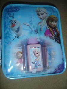 NEW Disney Frozen travel bath set lotion body wash 2 in 1 shampoo conditioner