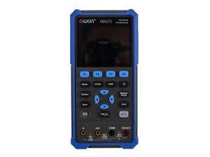 "OWON HDS272S 3.5"" 2CH Handheld Oscilloscope 70MHz Bandwidth 20000 Counts 0-2V"
