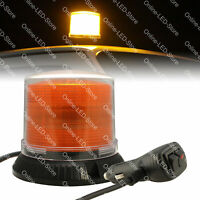 12W Amber LED Strobe Warning Beacon Lights for Emergency Vehicles Cars Trucks