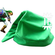 THE LEGEND OF ZELDA LINK CAPPELLO VERDE COSPLAY hat chapeau berretto ocarina new
