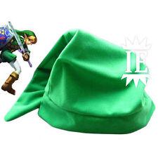 The Legend Of Zelda Enlace Sombrero Verde Cosplay Hat Chapeau Ocarina Nuevo