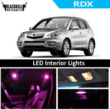 Pink LED Interior Lights Replacement Package Kit for 2007-2012 Acura RDX 6 bulbs