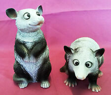 POSSUM Decorative Ornaments Figurine Statuette Garden Decoration (Set of Two)