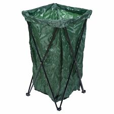 180L Collapsible Metal Recycle Garbage Waste Rubbish Bin Bag Sack Stand Holder