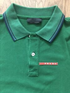 Prada - Polo Shirt - Slim Fit - Size L - $400