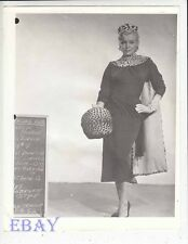Marilyn Monroe costume test RARE Photo