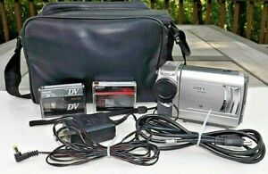 Sharp VL-NZ50 Mini DV VCR Player & Video Camera, WORKS