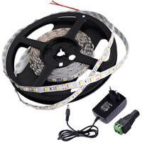 12V Warmweiß LED 3528 SMD 5M Streifen Strip Lichtband Lichterkette Leuchte EU C