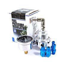 GENSSI Silver Type S Adjustable Fuel pressure Regulator FPR Universal JDM turbo