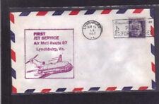 First Jet Service-AM 87-Lynchburg, VA to Jamaica,NY AMF