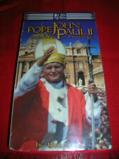 (POPE JOHN PAUL II ) VHS TAPE...  ( BUILDER OF BRIDGES)