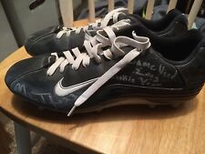 Seattle Seahawks Marcus Trufant Game Worn Cleats