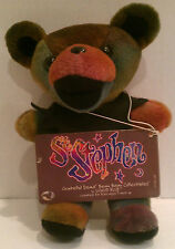 Grateful Dead Bean Bear Collectible Liquid Blue, St. Stephen Bear D.O.B. 9/20/70