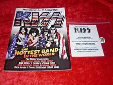 KISS 2016 Official Magazine! w/ Gene Simmons Monster Pick!! N-Mint!