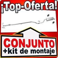 Fiat Punto / Grande Punto 1.2 dès 2005 Sistema de Silenciador Escape 733