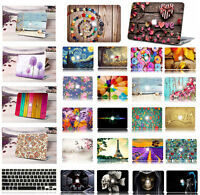 "Laptop Hard shell Case Keyboard Cover Macbook Pro 13/15"" Air 11/13 before 2016"