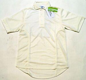 Classic Performance Cricket Half Short Sleeve Cricket Shirt Boys Mens Top SMLXL