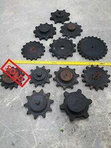 *SELLING CHOICE* One Vtg Industrial Foundry Mold Pattern Wood Cog Gear Steampunk