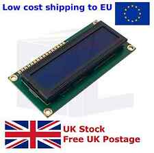 LCD Display Module Blue 1602 16X2 Lines HD44780 Arduino Raspberry PI UK