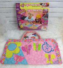 DOODLE BEAR Original Stylin Mat & Tote Bag INCLUDES 5 MARKERS & BOX 2005 Draw