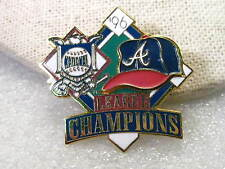 Vintage 1996 Atlanta Braves National League Champions Enameled Collector Pin