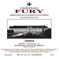 FURY IN THE SLAUGHTERHOUSE / ACOUSTIC GRAND CRU CLASSE - LIVE * NEW 2CD'S * NEU