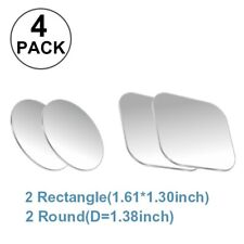 4pcs Universal Sticky Magnetic Metal Disc Attachment Magnetic Car Phone Holder