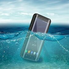 Samsung Galaxy S8 Plus Case Hybrid Waterproof Shockproof Cover Slim Fit Black