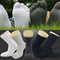 5Pair Men Women's Socks Sports Five Finger Pure Cotton Socks Casual Toe Socks